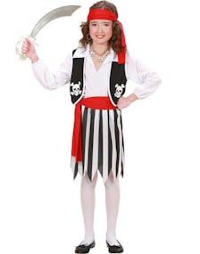 Sjørøver Pike Barnekostyme 96dcb114ab857