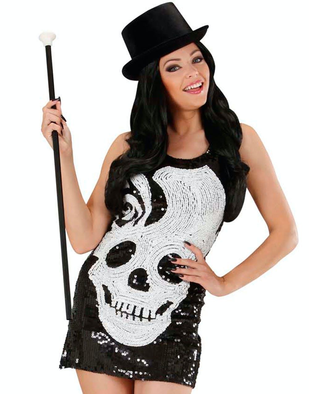 Lady Skullhead Kostym 538bfa22059c8