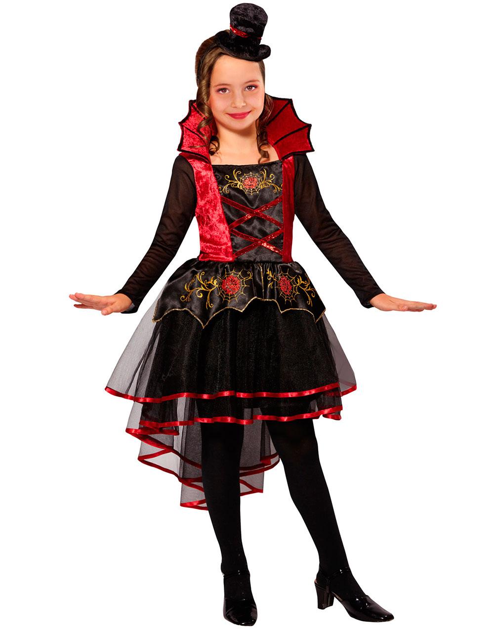 Vampyrkostyme til Barn med Minihatt