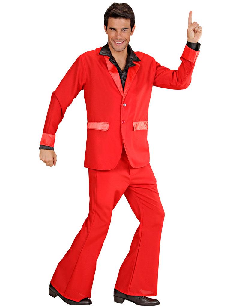 b448b15a Rød Party Dress Herrekostyme - Saturday Night Fever - Film & TV - Kostymer  etter Tema - Kostymer - KARNEVAL