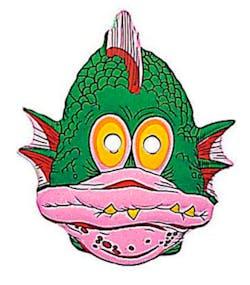 43aea68aa9bb Sjømonsteret - Maske til barn av formet plast