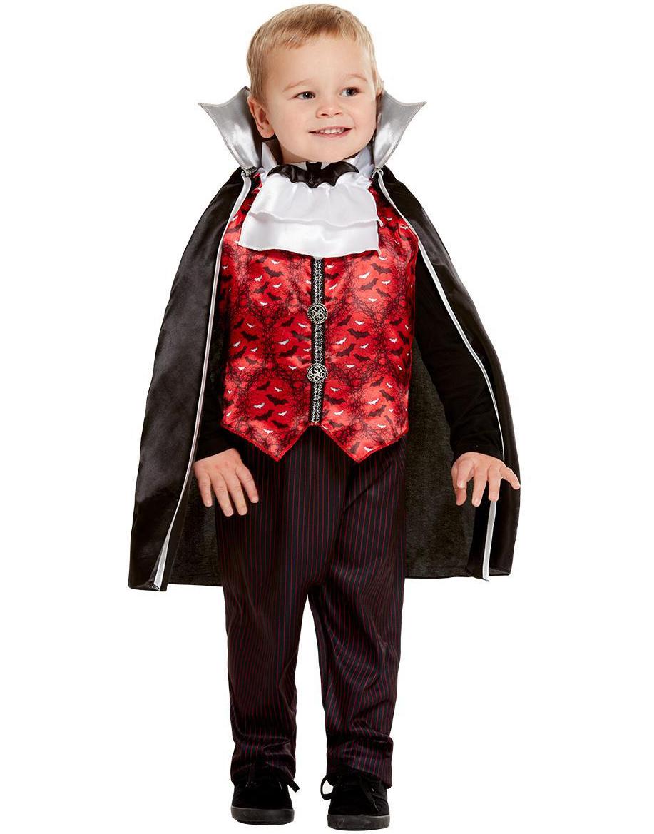 Vampyr Kostyme til Barn 3 Deler