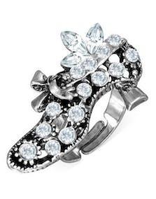 cba1c82bb72 Fancy Lady Shoe - Silverfärgad Ring