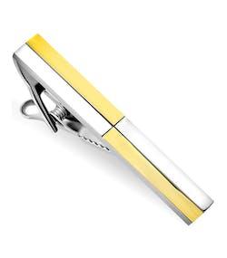 new products be831 b0700 Slipsnål med Guld- och Silverfärgade Fyrkanter