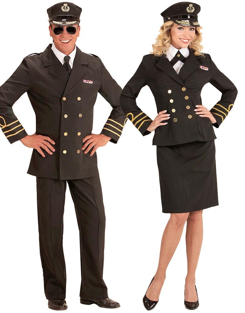politi kostyme mann dame søker par